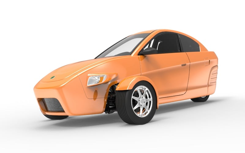 Elio Motors 3-wheeled car review [VIDEO]