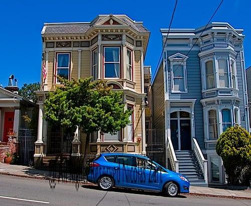 Ford C-MAX Hybrid in SF