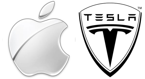Is Apple working with Tesla