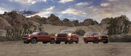 Toyota Unveils New TRD Pro Off-Road Package - 4Runner, Tacoma and Tundra