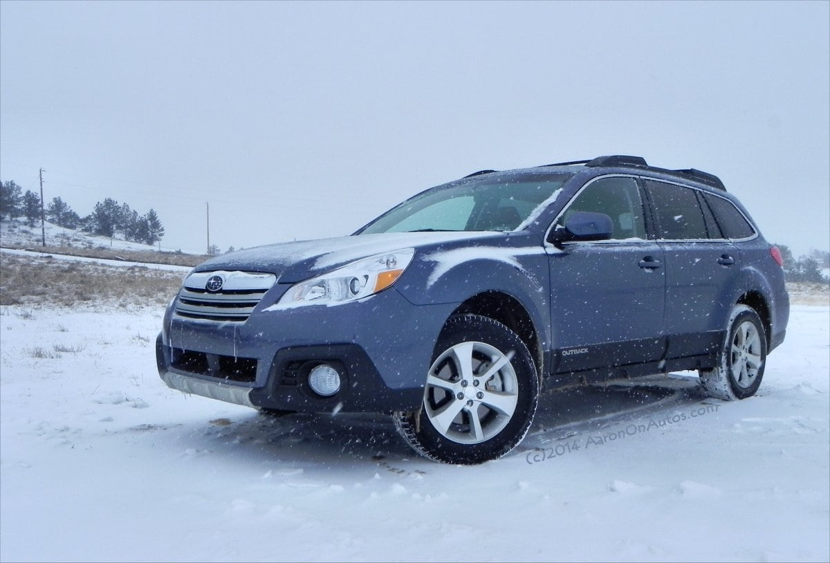 2014 Subaru Outback – the bigger, more luxurious Subaru