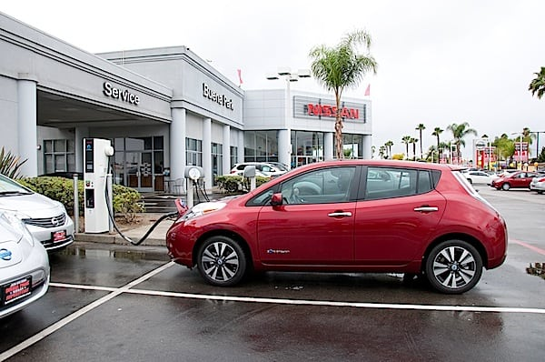 2014 Nissan LEAF Review, the Well Rounded EV