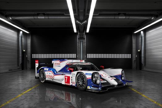 Toyota hybrid Le Mans racer TS040