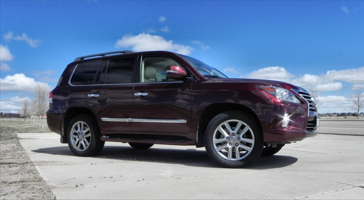 2014 Lexus LX570 – offroad just got luxurious