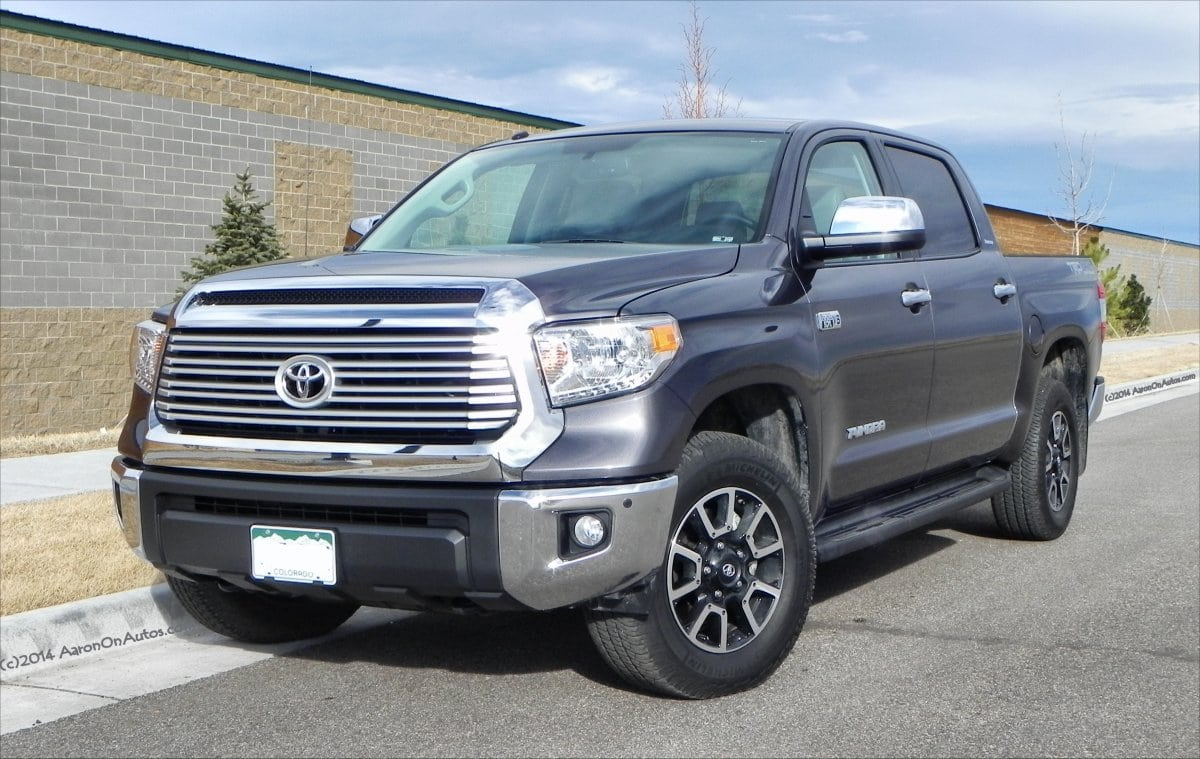 2014 Toyota Tundra Limited Big Capable Lacking