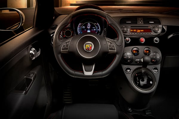 2015 fiat 500 abarth interior