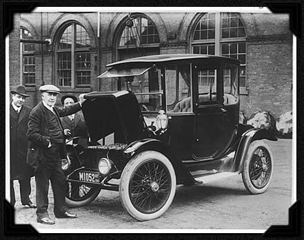 Edison Detroit Electric Car 1913