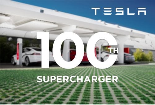Tesla expands European charging network