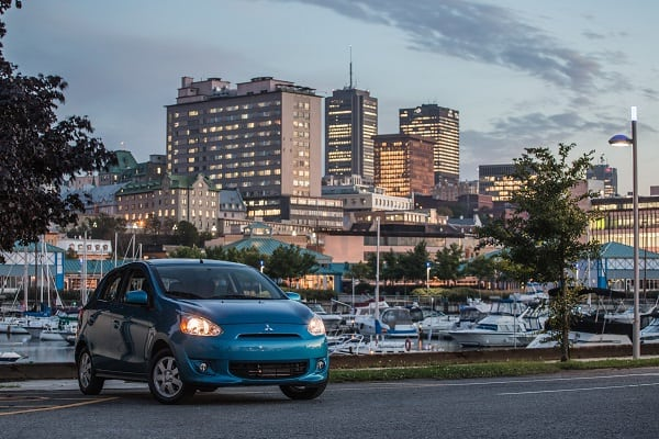 Seeing past the Mirage: Mitsubishi Mirage offers low cost, no frills transportation