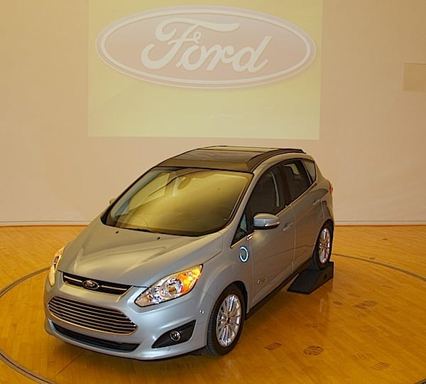 UPDATE: Ford Mike Tinskey Explains The C-MAX Energi Solar