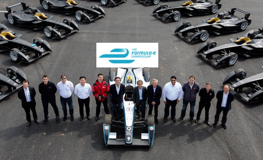 Formula-E party in Lodon