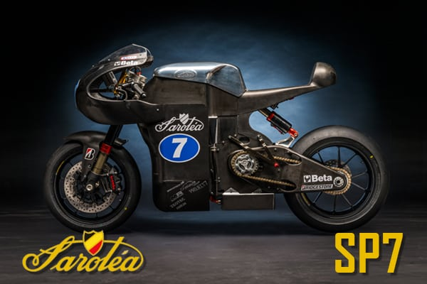 Sarolea Racing electric SP7