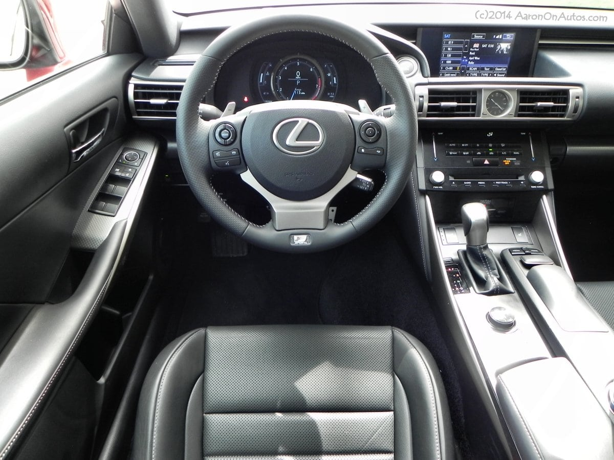 2014 Lexus IS350 FSport AWD a sports car with refinement
