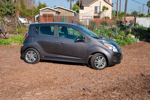 Spunky 2014 Chevy Spark EV review
