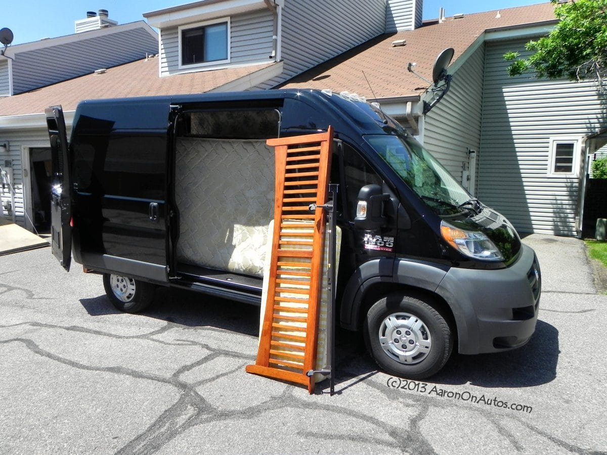 2014 Ram 1500 ProMaster Cargo – the good, the bad, and helping friends move