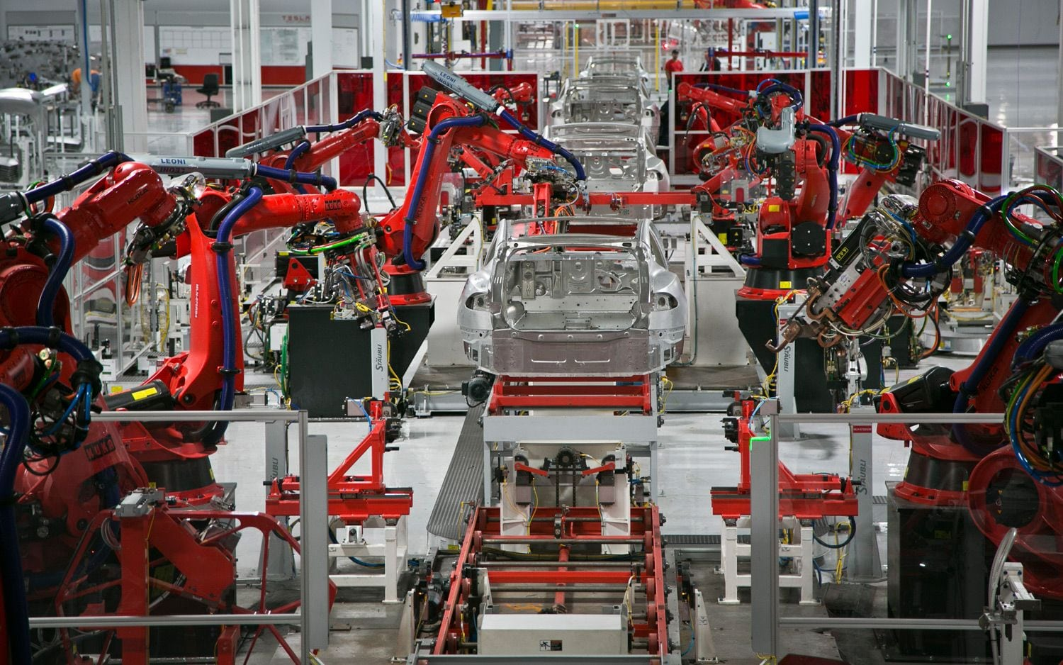Tesla Factory Idled Carnewscafe