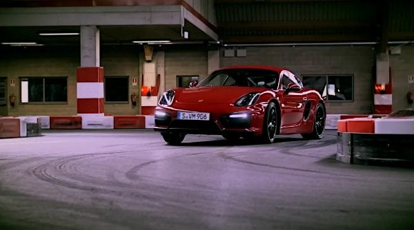 porsche cayman go kart track