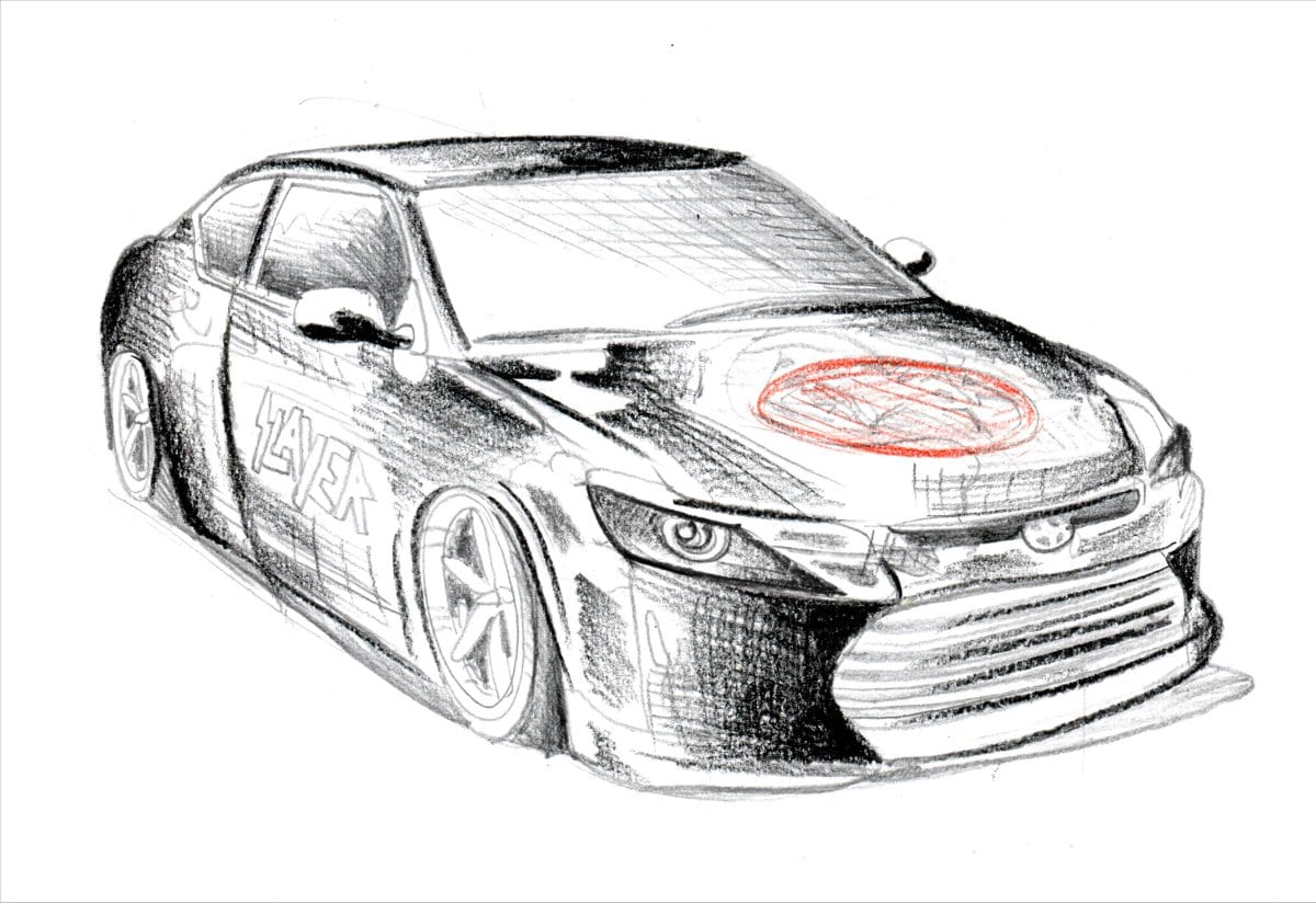 scion teases sema concepts inspired by slayer and riley