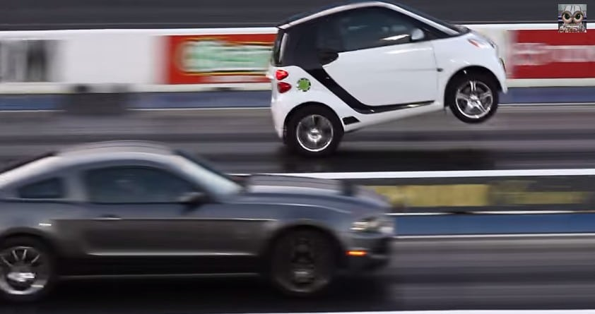 Supercharged Smart Car