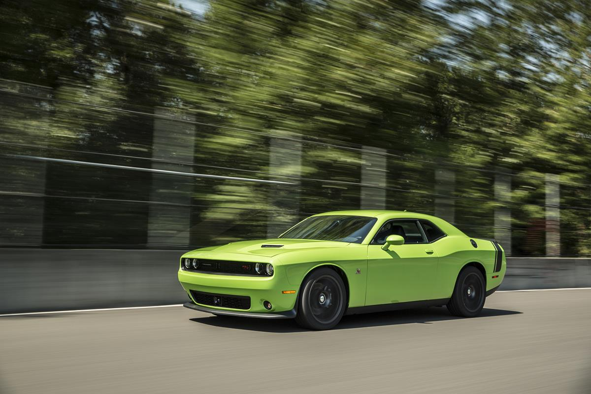 Growling its way to the top: 2015 Dodge Challenger Scat Pack gets aggressive