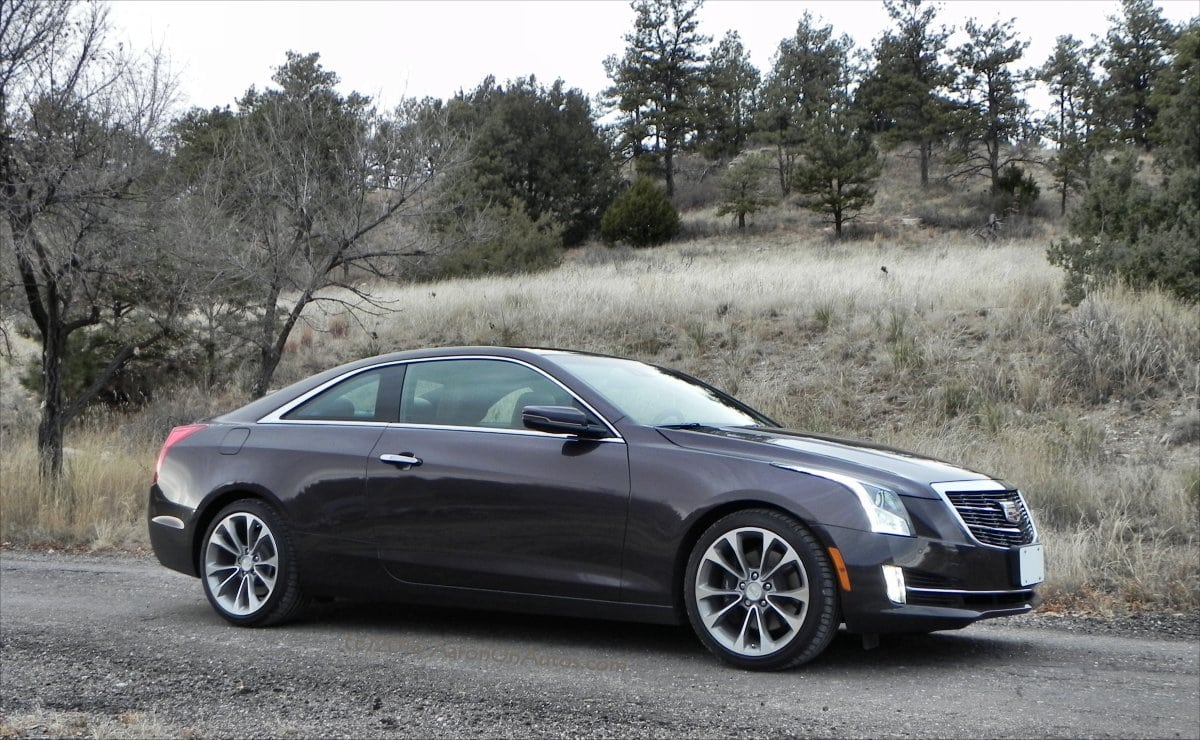Cadillac Ats Now Offered As A Two Door Luxury Coupe