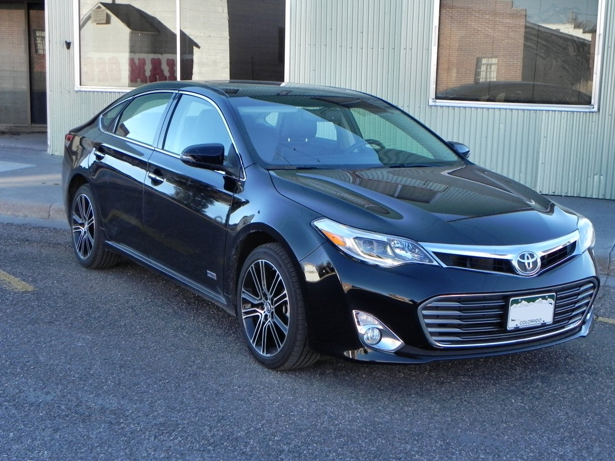 2015 Toyota Avalon is a Progressive Conservative Sedan - CarNewsCafe