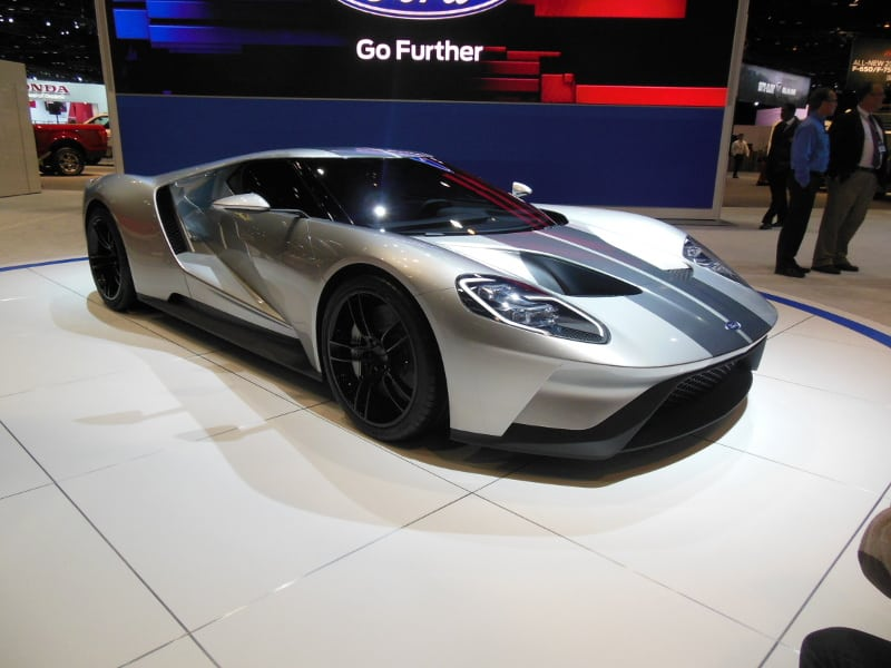 chicago auto show ford gt