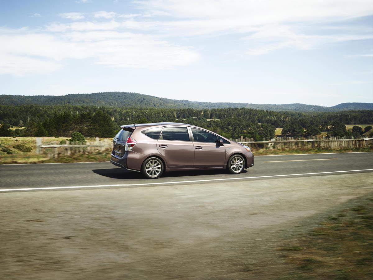A Station Wagon With Versatility And Purpose Toyota Prius V Expands Hybrid Family In More Ways Than One