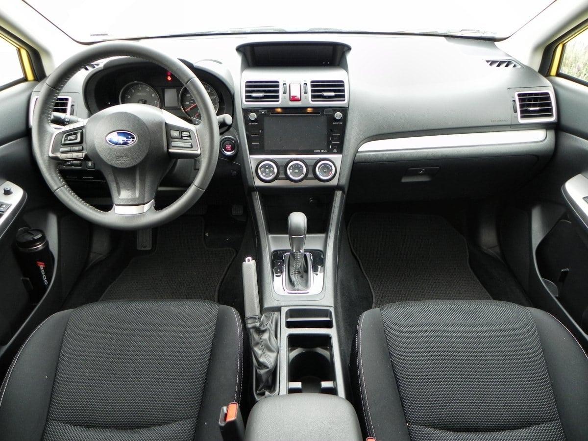 Subaru Xv Crosstrek Interior