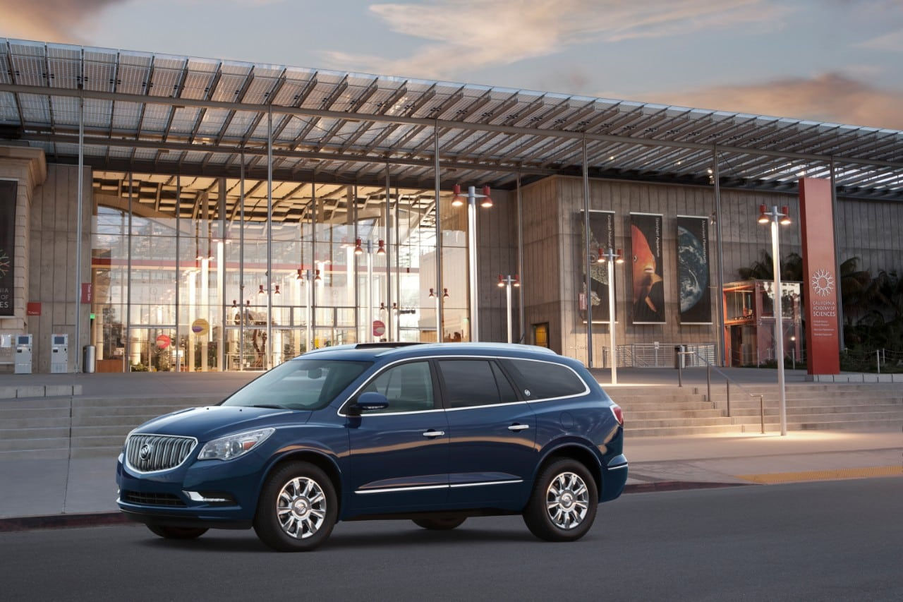 Finding Common Ground Buick Enclave Diffeiates Itself From Compeion With Quiet Comfort