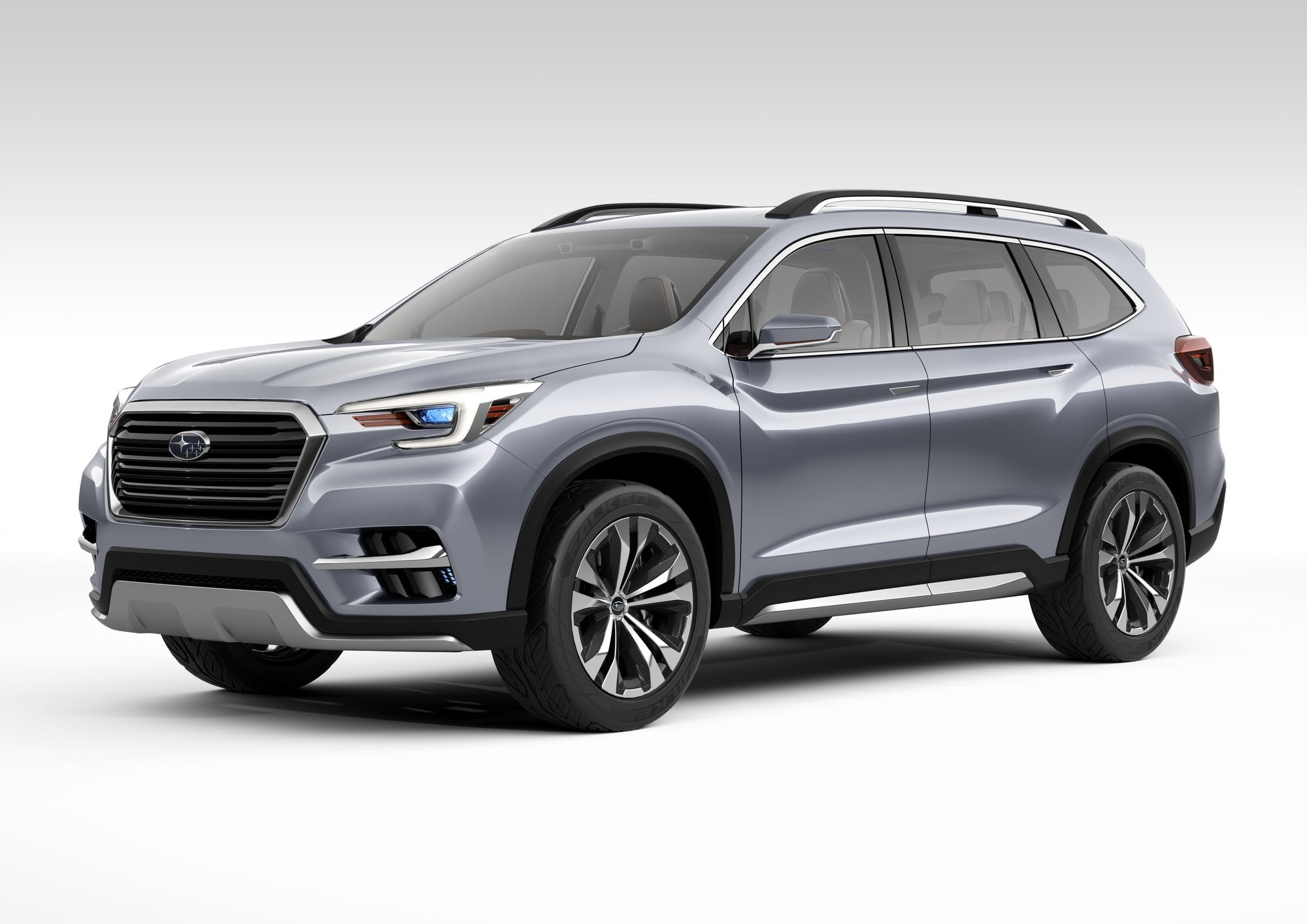 subaru reveals new ascent 3 row suv concept production coming soon carnewscafe. Black Bedroom Furniture Sets. Home Design Ideas