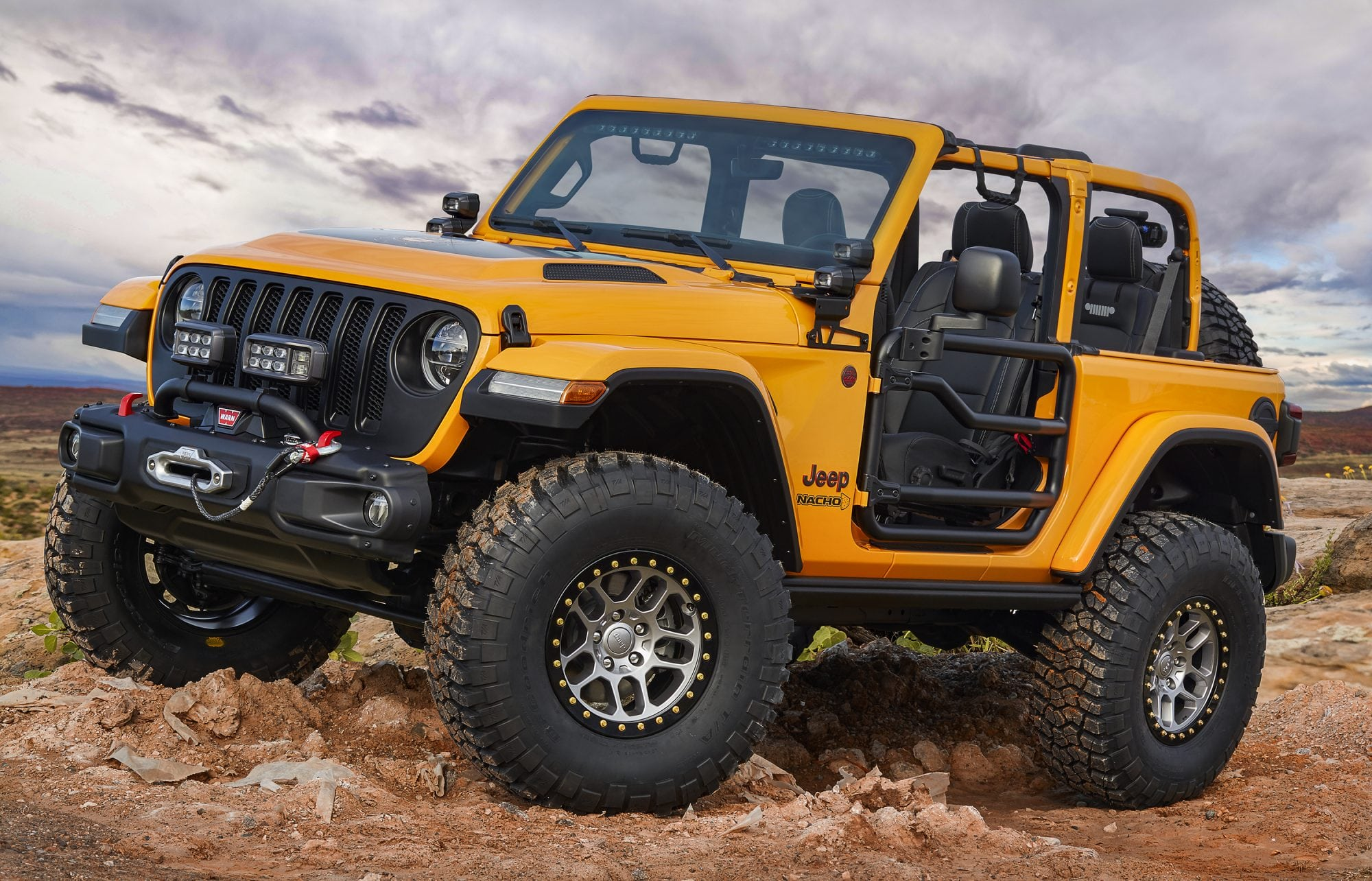 Jeep Mopar Unveil 7 Concepts for Moab Easter Jeep Safari CarNewsCafe