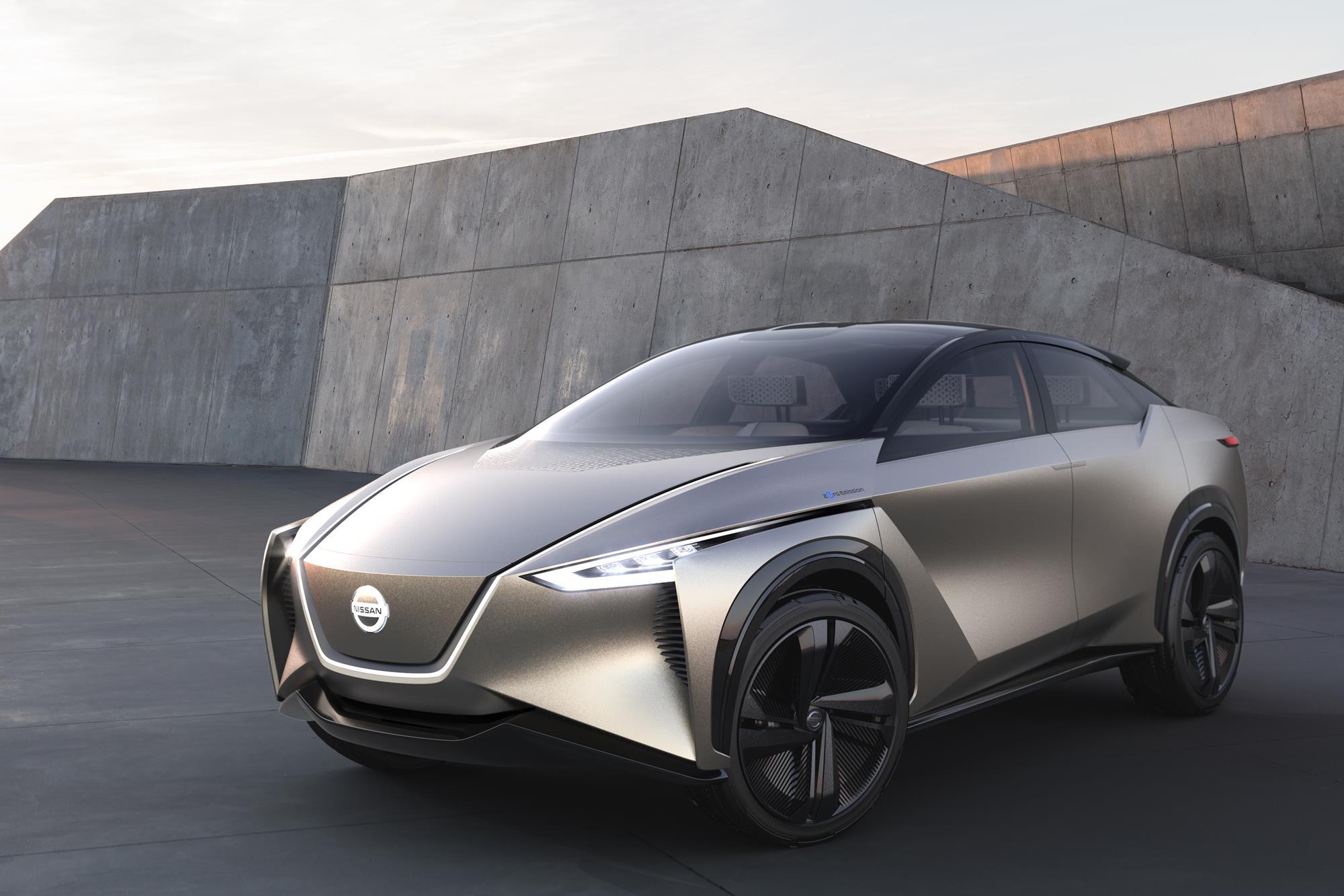 Nissan Imx Kuro Concept Vehicle Debuts At Geneva Motor